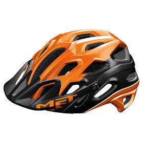MET Lupo Bike Helmet orange/black